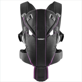 Baby Bjorn Miracle Baby Carrier in Black/Purple