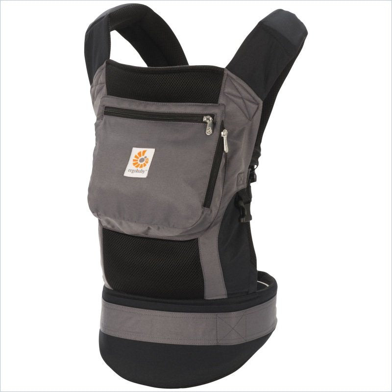 Ergo Baby Performance Carrier in Black and Charcoal