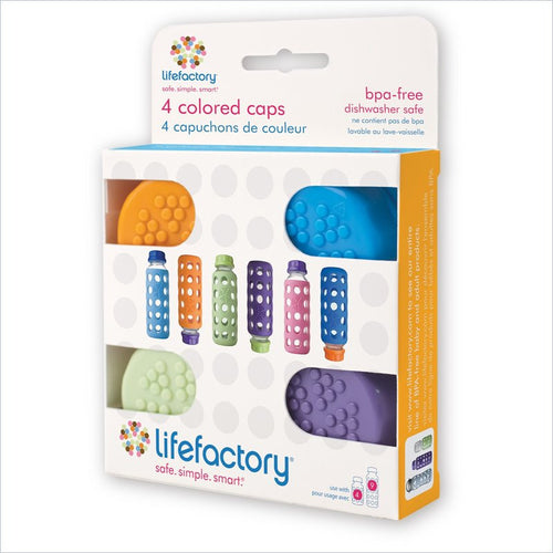 Life Factory Multi Color Solid Caps