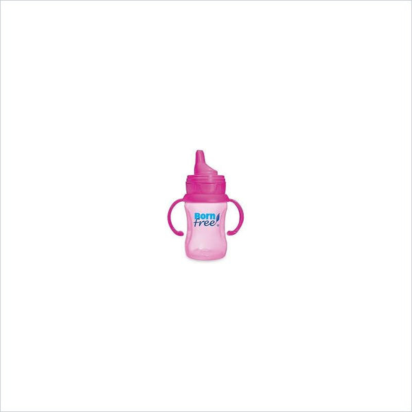Born Free 7oz Soft Spout Training Cup in Pink