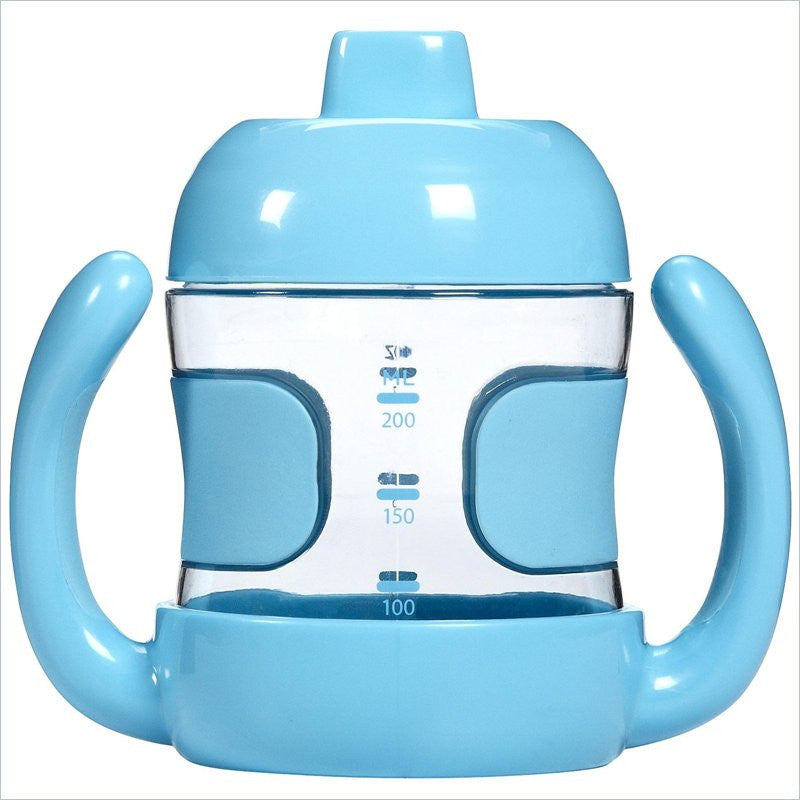 OXO Tot 7oz Sippy Cup With Handles in Aqua