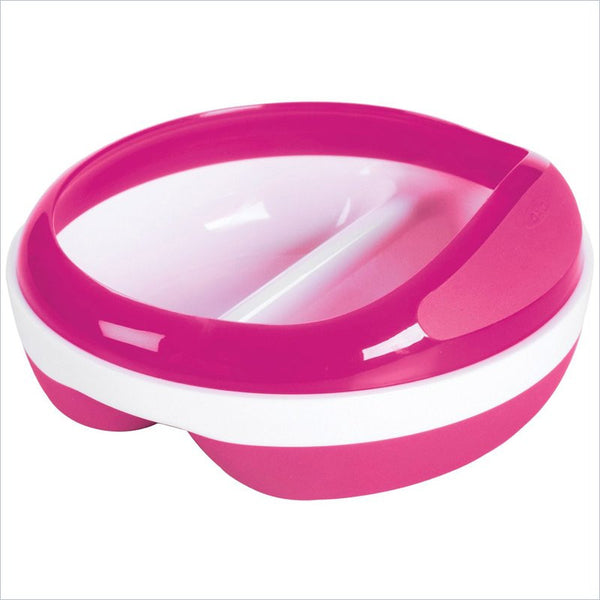 OXO Tot Baby Divided Feeding Dish in Pink