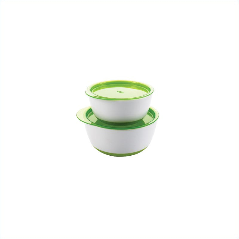 OXO Tot Baby Small & Large Bowl Set in Green