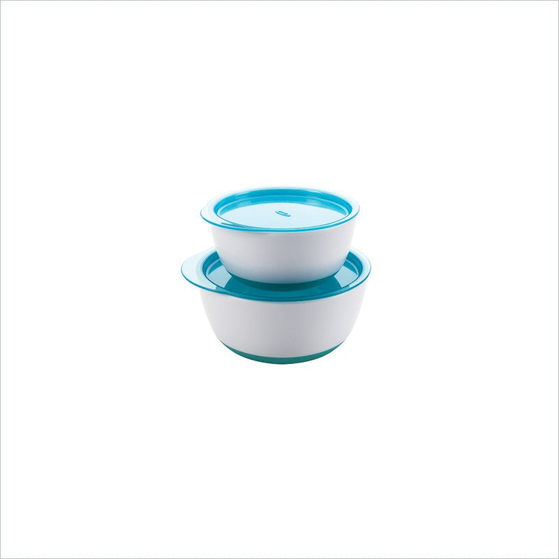 OXO Tot Baby Small & Large Bowl Set in Aqua