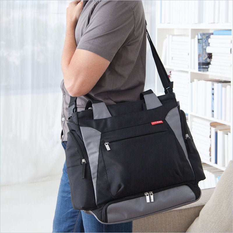 Skip Hop Bento Meal-to-Go Diaper Bag in Black
