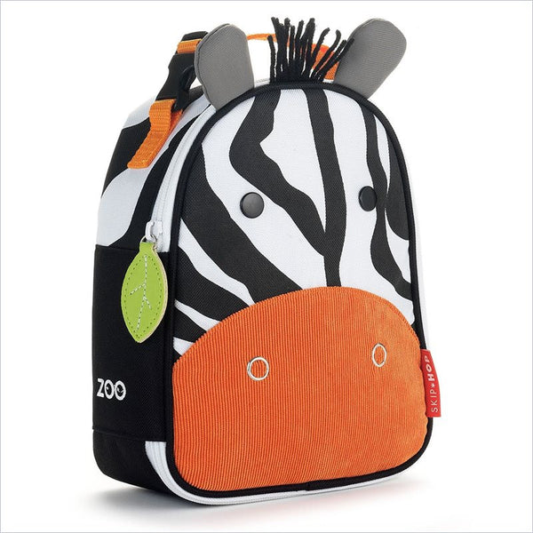 Skip Hop Zoo Lunchies Insulated Lunch Bag in Zebra