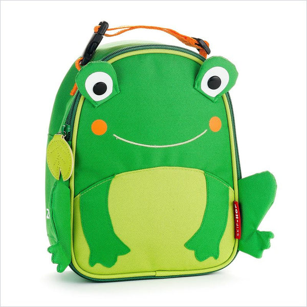 Skip Hop Zoo Lunchies Insulated Lunch Bag in Frog