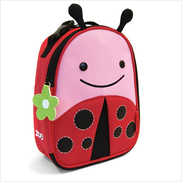 Skip Hop Zoo Lunchies Insulated Lunch Bag in Ladybug