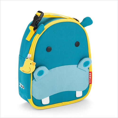 Skip Hop Zoo Lunchies Insulated Lunch Bag in Hippo