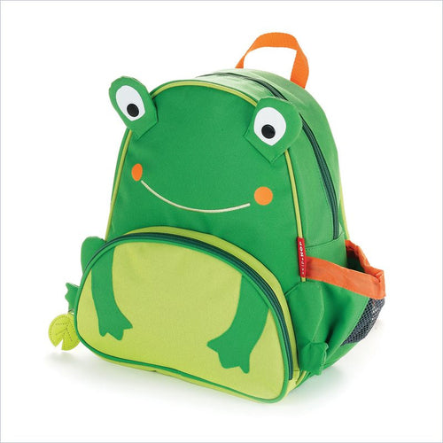 Skip Hop Zoo Pack Little Kid Backpack in Frog