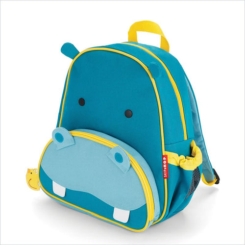 Skip Hop Zoo Pack Little Kid Backpack in Hippo
