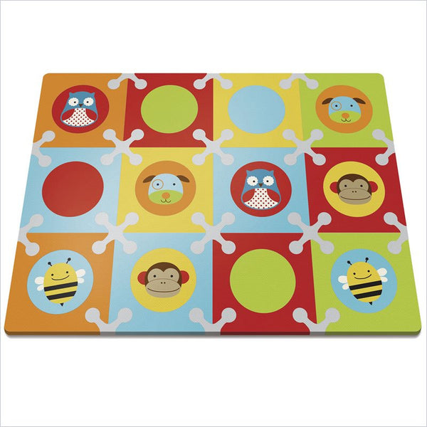 Skip Hop Playspot Foam Floor Tiles in Zoo-Multi