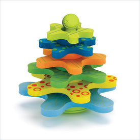 Skip Hop Starfish Stay-Put Stacker Bath Toy