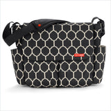 Skip Hop Dash Messenger Diaper Bag in Onyx