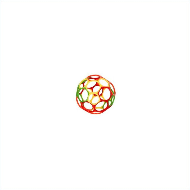 Rhino Toys 4 inch OBall in Green/Orange/Yellow/Red