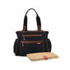 Skip Hop Grand Central Bag in Black and Russet