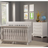 DaVinci Kalani 4-in-1 Convertible Crib and 4 Drawer Chest in White