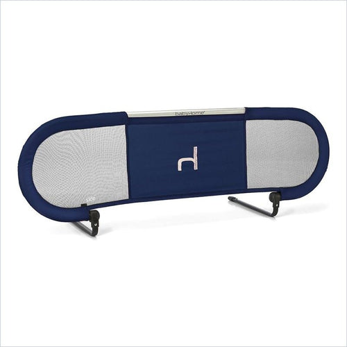 BabyHome Side Bed Rail in Navy