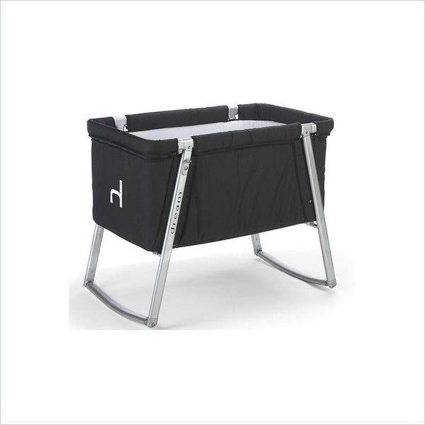 BabyHome Dream Baby Cot in Black