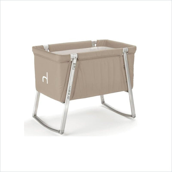 BabyHome Dream Baby Cot in Sand