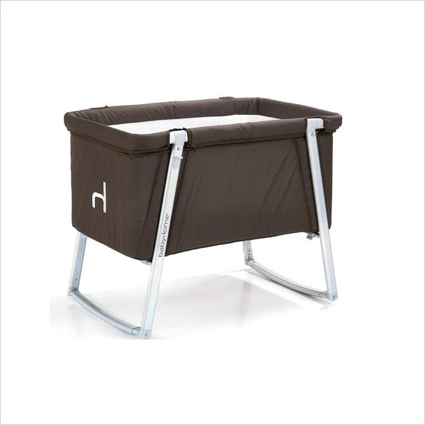BabyHome Dream Baby Cot in Brown