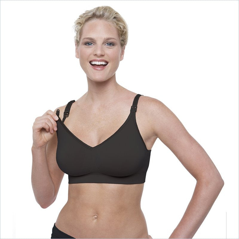 Bravado Design Body Silk Seamless Nursing Bra in Black