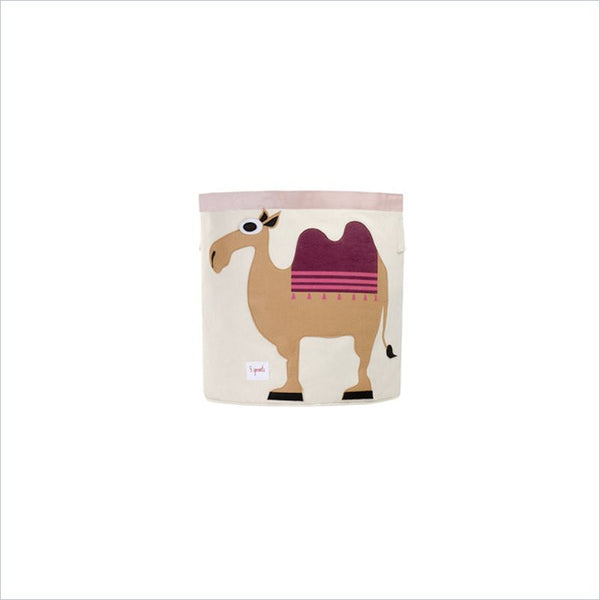 3 Sprouts Storage Bin in Camel
