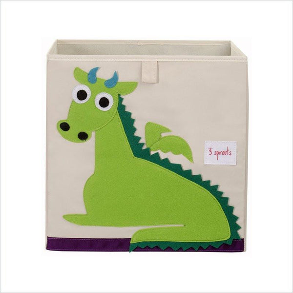 3 Sprouts Drago Storage Box in Green