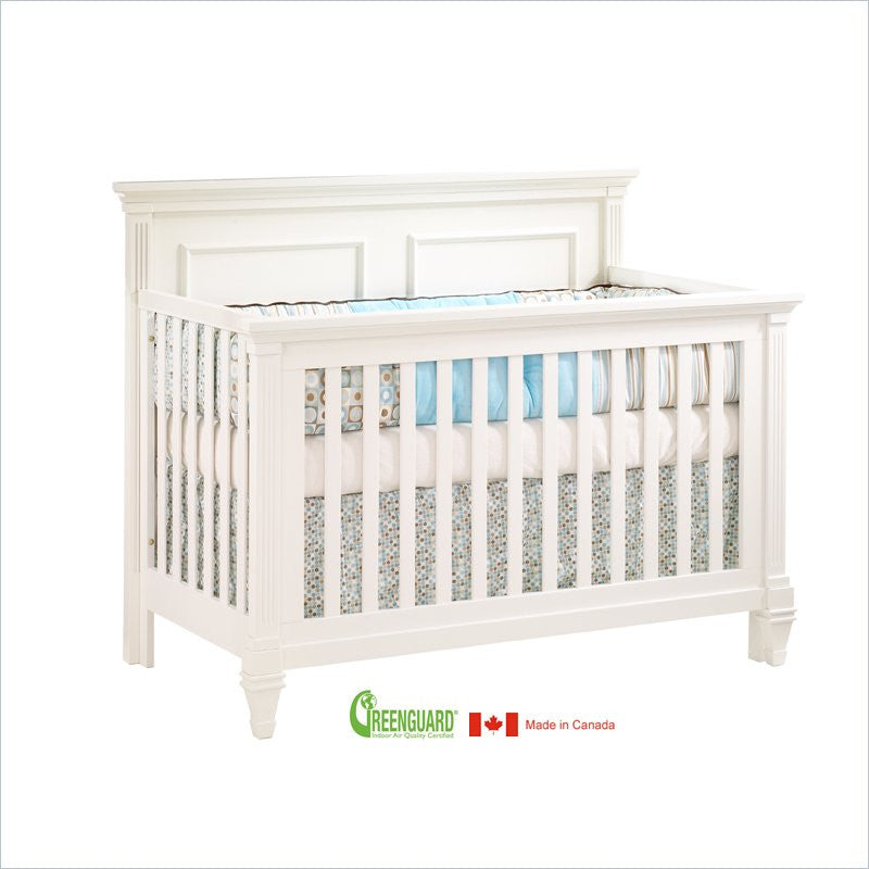 Natart Belmont ''5-in-1'' Convertible Crib in French White