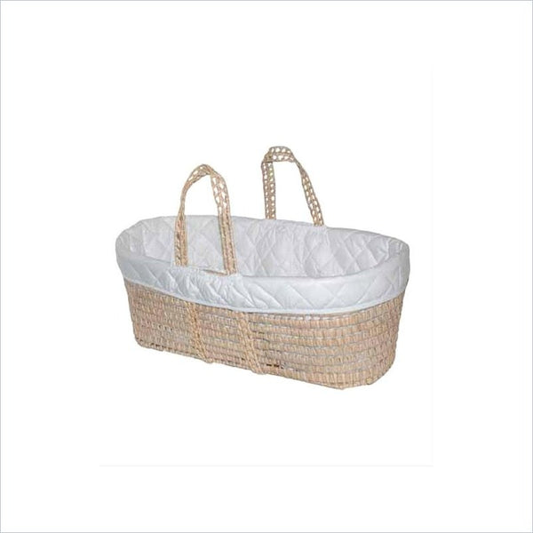 Jolly Jumper Moses Basket in White