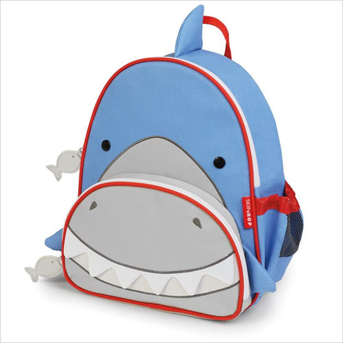 Skip Hop Zoo Pack Little Kid Backpack In Shark