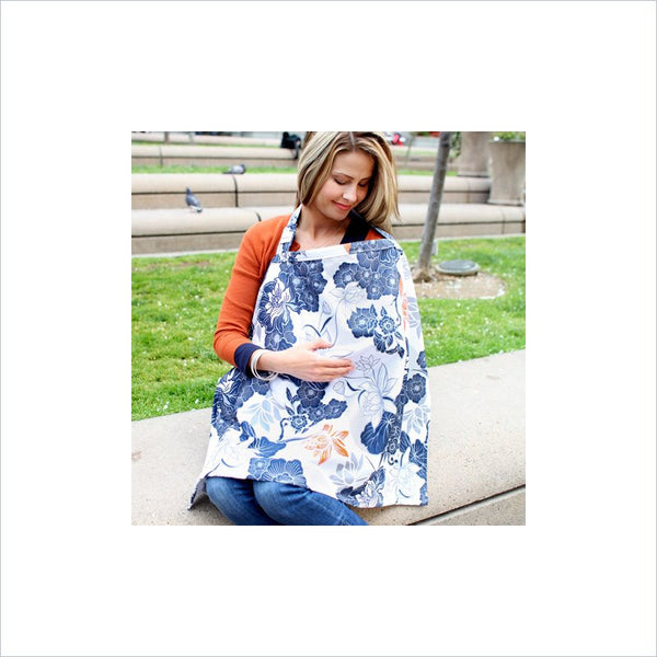 Bebe Au Lait Nursing Cover In Katori