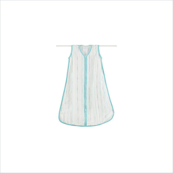 Aden and Anais Bamboo Sleeping Bag in Azure Beads