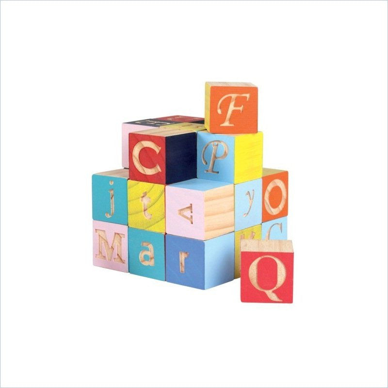 Janod Kubix in 40 Letters & Numbers Blocks
