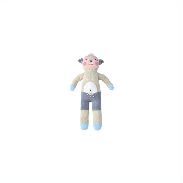 Bla Bla Wooly The Sheep Knitted Doll