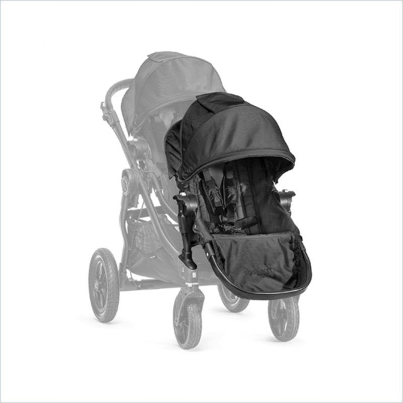 Baby Jogger City Select Second Seat Kit in Black