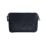 SoYoung Sydney Messenger Diaper Bag in Waxed Black