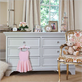 Million Dollar Baby Arcadia Double Dresser in Dove White