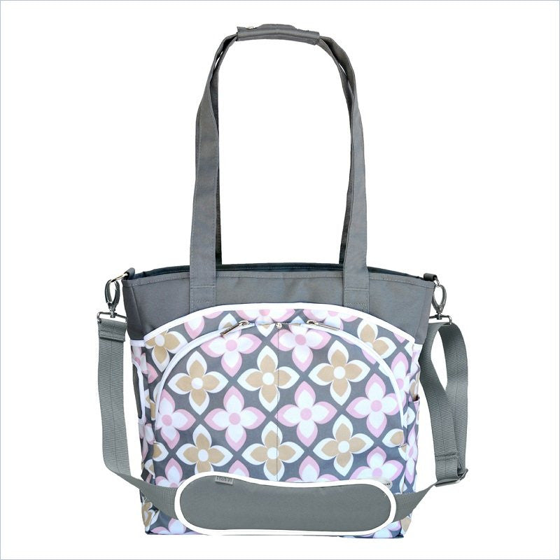 JJ Cole Mode Diaper Bag in Pink Lily