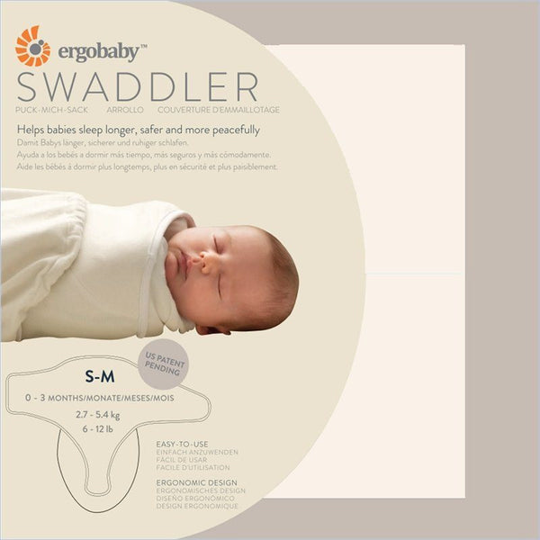Ergobaby Sleep Tight Swaddler in Natural + Natural