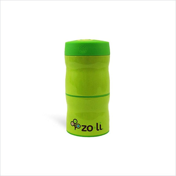 Zoli This & That Double Tiered Vacuum Insulated Food Jar in Green