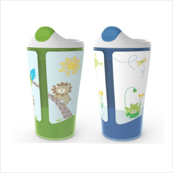 Born Free 10 oz. Boys Grow With Me Sippy Cup (Set of 2)