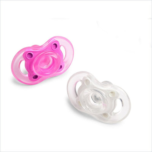 Born Free Bliss Pacifier Button 6m+ Twin Assortment