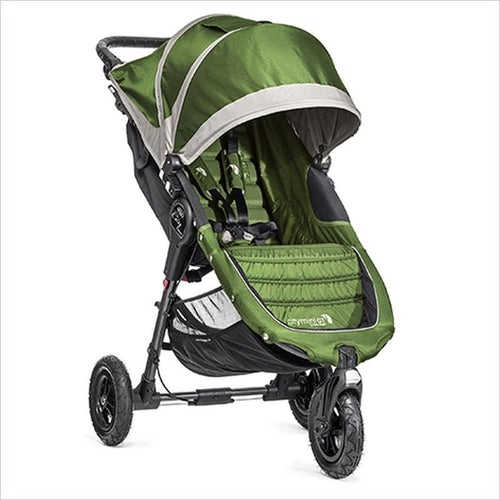 Baby Jogger 2014 City Mini GT Stroller in Lime and Gray