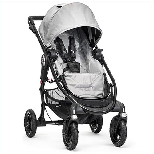 Baby Jogger City Versa GT Stroller in Silver