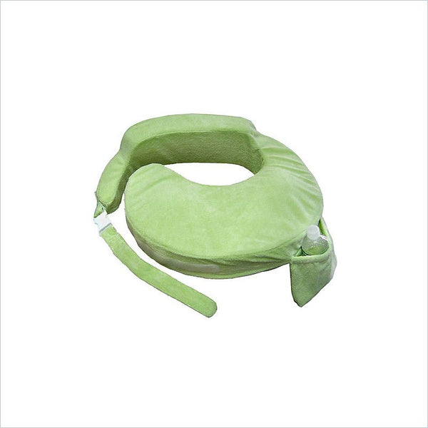 My Brest Friend Baby Breastfeeding Pillow in Deluxe Green