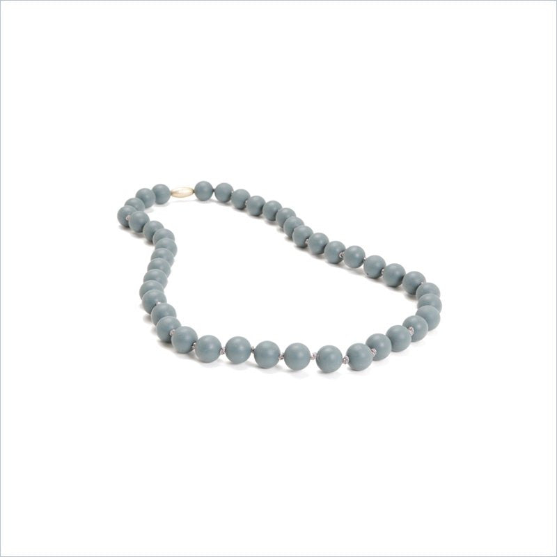 Chewbeads Jane Necklace in Stormy Grey