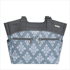 JJ Cole Camber Diaper Bag in Blue Iris