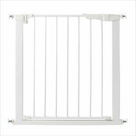 Kidco Gateway Auto Close Pressure Mount Gate in White