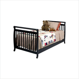 Da Vinci Emily Twin Size Bed in Ebony
